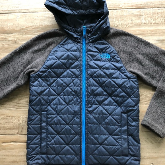 40f9f3856 The North Face Quilted Sweater Fleece Jacket